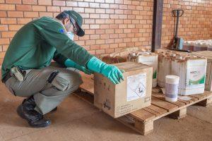 Fiscais do IBAMA fazem operação contra agrotóxicos ilegais na Bahia